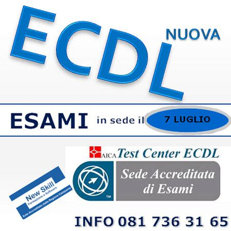 simulazioni test nuova ecdl la nuova ecdl corsi nuova ecdl esami per la nuova ecdl