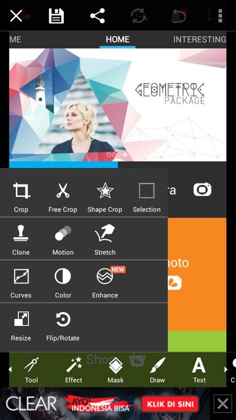 tutorial aplikasi picsart di android cara memotong gambar dengan aplikasi picsart di smartphone