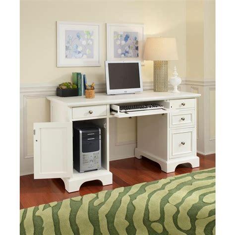 Home Styles Naples White Desk 5530 18 The Home Depot Naples White Desk