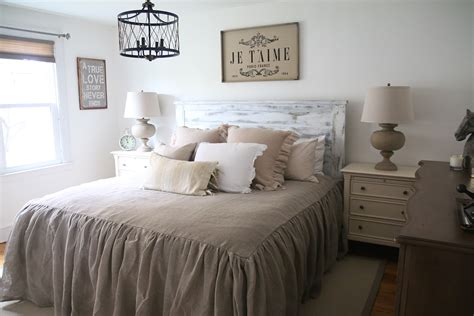 rustic farmhouse bedroom our rustic french farmhouse master bedroom with raymour and flanigan the rustic life