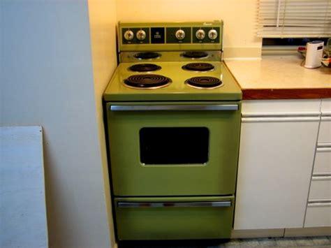 Vancouver Apartment Size Stove Retro Ge 24 Apartment Size Avocado Stove Mid Century