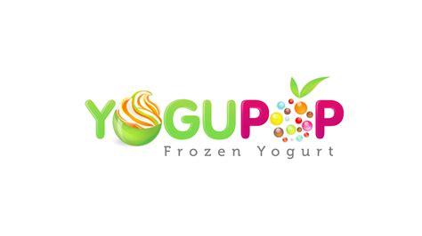 images  frozen yogurt logos  pinterest