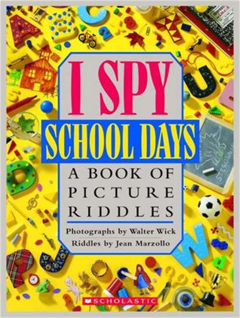 i mystery a book of picture riddles i school days a book of picture riddles by jean