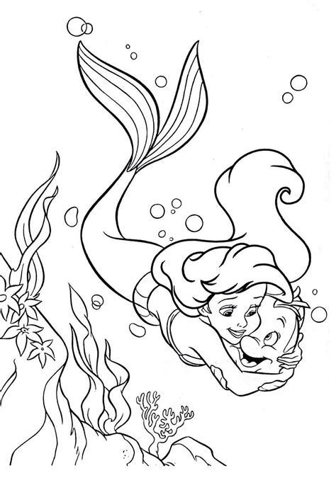 imagenes para dibujar la sirenita dibujos de la sirenita para colorear pintar e imprimir gratis