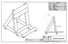 building  ob motor stand instructional page