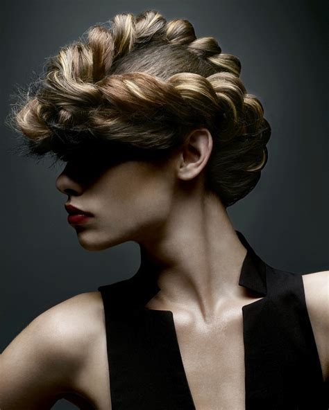 fashion forward hair up do uczesanie z warkocza fryzury galeria
