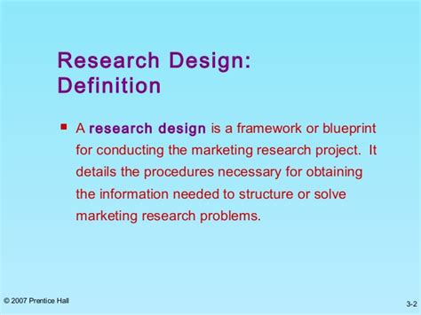 definition of pattern and types research design