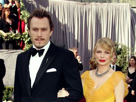 Did Heath Ledger And Williams Get Married by Why Williams Can T Move On From Heath Ledger S