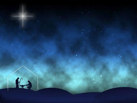 powerpoint templates nativity free blue christmas background nativity happy holidays