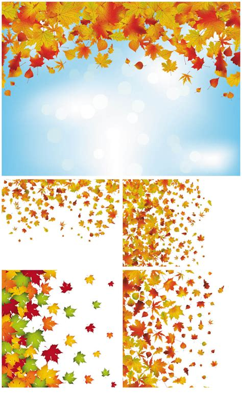 background clipart autumn vector graphics page 9