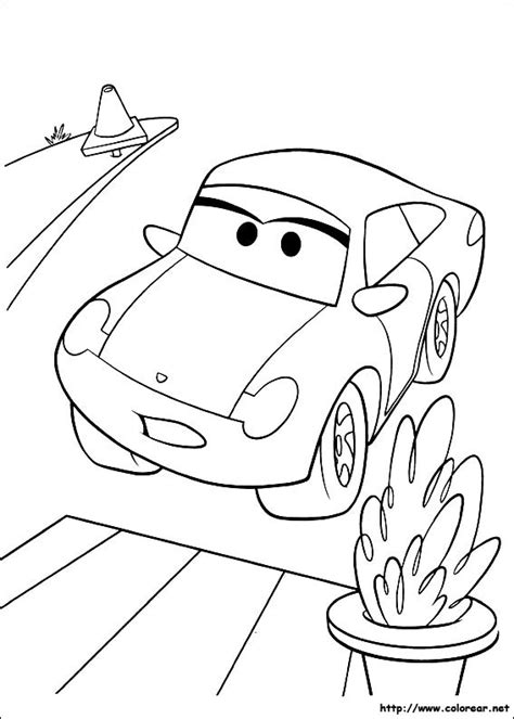 cars sally coloring page page coloring cars disney sallycoloring sally pages