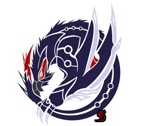 nargacuga circular emblem by zanshinretsu on deviantart