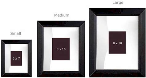 Mat Frame Sizes by Engravable Signature Frame Signature Frame