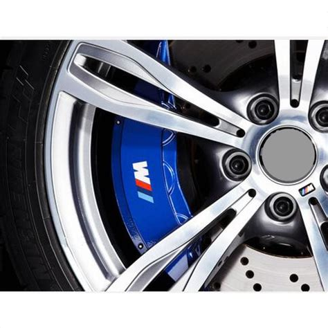 bmw caliper stickers 2 x m power performance brake caliper graphic decal