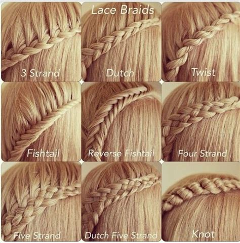 all types of braids step by step all different types of braids love them all