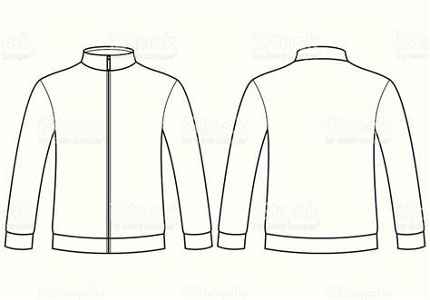 jacket design template cdr blank sweatshirt template stock vector art more images