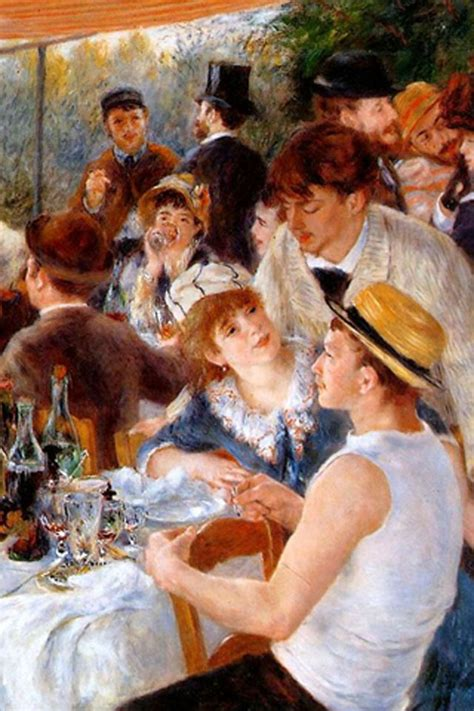 luncheon of the boating party download luncheon of the boating party iphone wallpaper hd