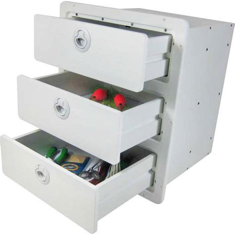 drawer storage units three drawer storage unit boat outfitters