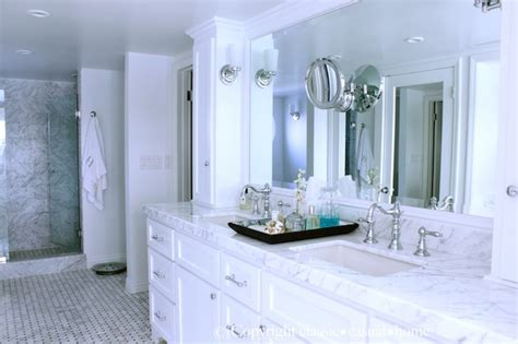 white marble bathroom countertops white marble countertops with white cabinets traditional