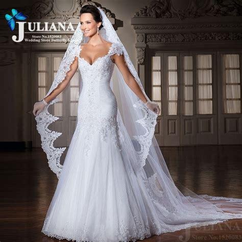 aliexpress compre 2015 vestido de casamento sereia