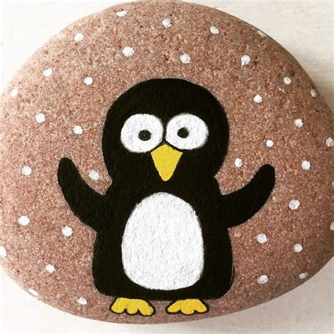Pet Rock Snowy 4070 best rocks images on rock painting painted stones and painting