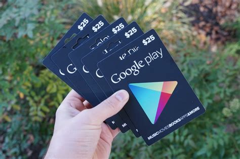 Google Play 5 Gift Card - contest we have five 25 google play gift cards to give away droid life