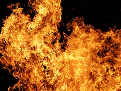 Flames For Fireplace by Wallpapers Flames