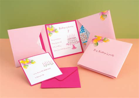 Handmade Birthday Invitation Ideas - handmade birthday invitation cards festival tech