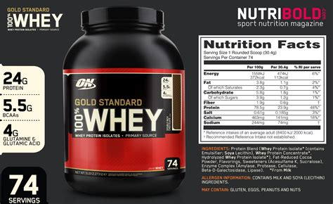 Whey Standard Gold Opiniones De Whey Gold Standard 100 Whey Protein Nutribold