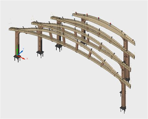 Curved Roof Construction Timber Frame Engineer