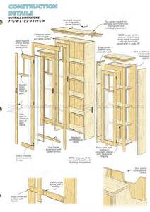 Wood Bookshelves Plans Stepback Bookcase Plans Woodarchivist