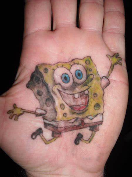 tattoo designs picture spongebob tattoos designs ideas and meaning tattoos for you