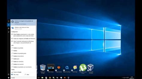 imagenes de windows 10 para pc como cambiar el fondo de pantalla en windows 10 youtube
