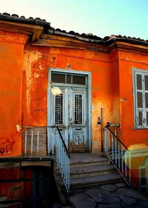orange house exterior house color peachy keen jelly bean