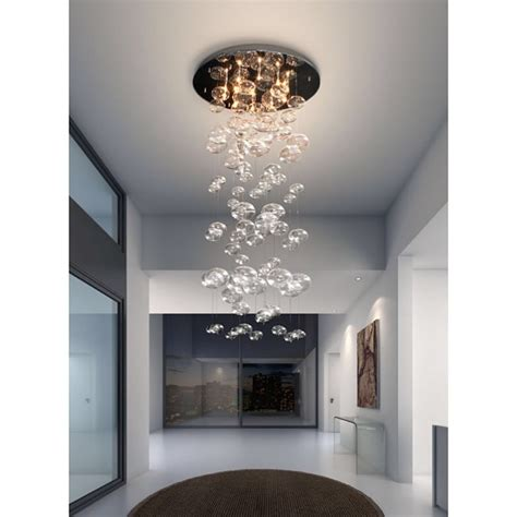 statement lighting statement lighting inertia glass ceiling light moss manor a design house