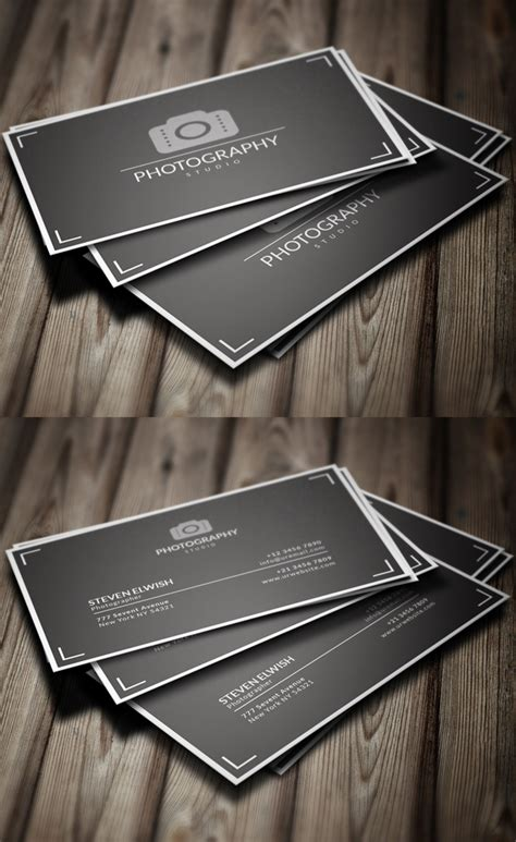 photography business card design templates photography business card templates design graphic