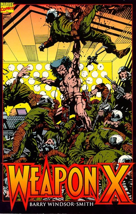 lobezno arma x ouch that hurts looking at torture in 1991 s weapon x by barry windsor smith sequart