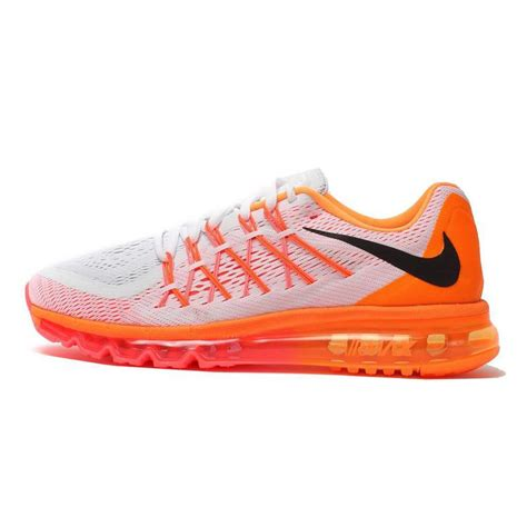 Nike Air Max 2015 Whiteblackorange P 1117 by Air Max 2015 Nike Running Shoes White Orange
