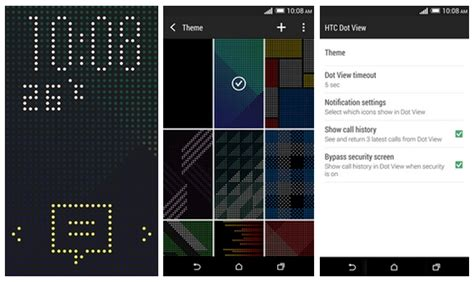 live themes dot view htc dot view app update brings new themes and features