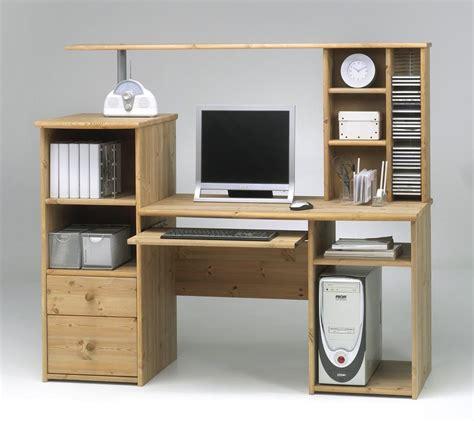 computertisch mit aufsatz bestseller shop f 252 r m 246 bel und - Schreibtisch Nussbaum Günstig