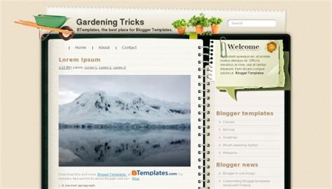 blogger themes diary 100 latest free blogger templates new additions