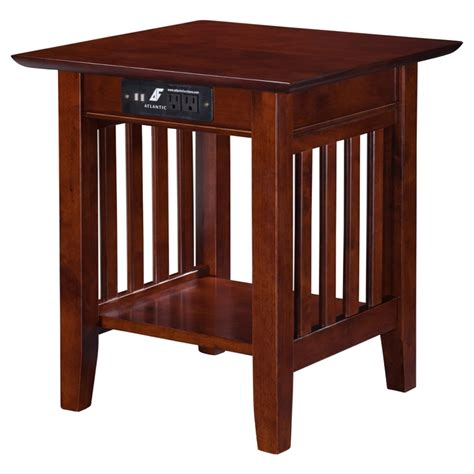 table chargers mission end table charger 1 shelf dcg stores