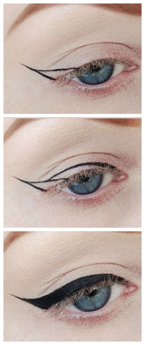 tutorial eyeliner chanel winged eyeliner tutorial howto beauty pinterest
