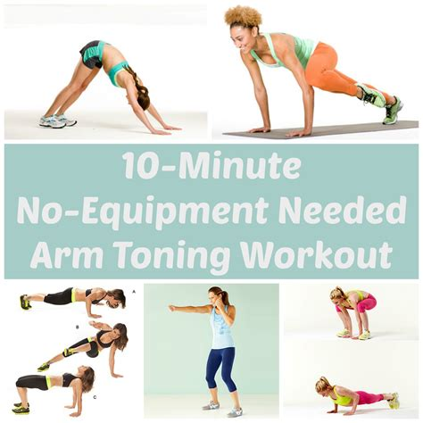 arm shoulder workout without weights sport fatare