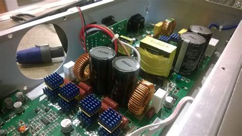 behringer inuke nu amp amplifier fan swap