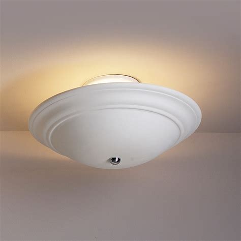 Ceramic Ceiling Light 15 Quot Shallow Saucer Semi Flush Lighting Fabby Fabby
