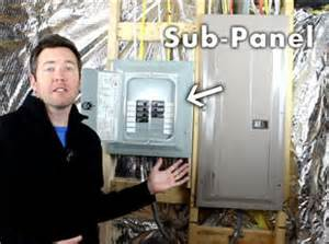 do you need a sub panel for your basement how much will