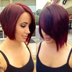 colored bobs 22 asymmetrical haircuts hairstyles 2016