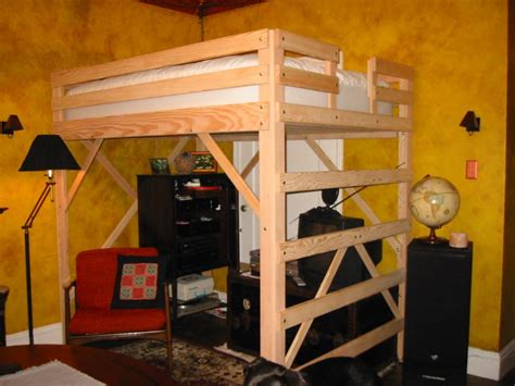 full size loft beds loft bed specialists mc woodworks twin full queen king loft beds