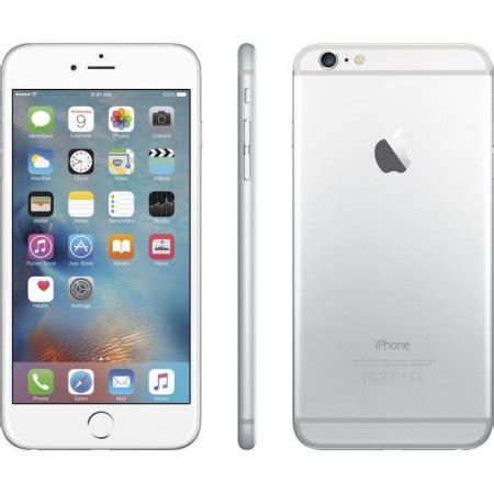 apple iphone 6 plus 16gb refurbished smartphone, silver